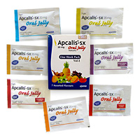 Apcalis Oral Jelly in Potenzmittel Test - Apcalis SX Oral Jelly